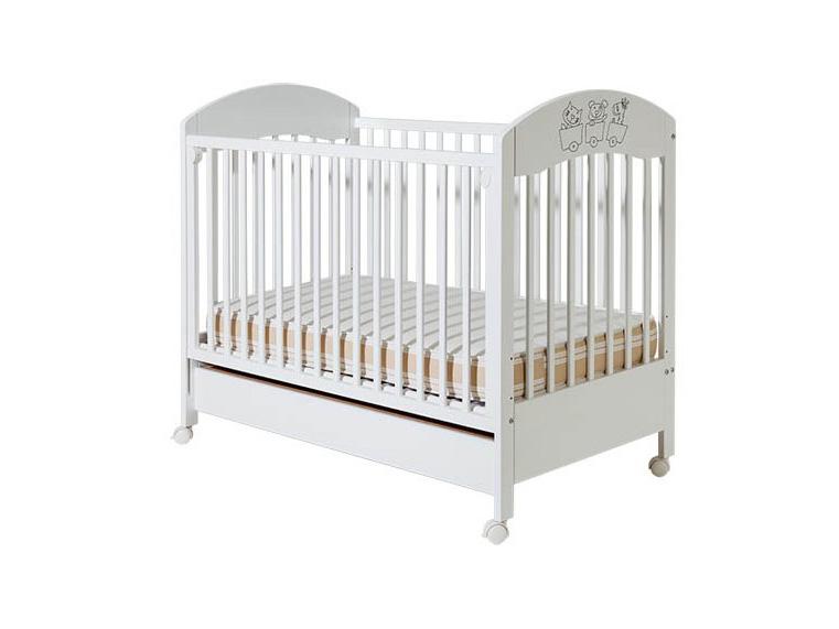 Bambino Gloria beli krevetić sa fiokom Piccolo Mondo Valjevo